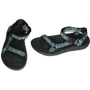 Teva Womens Hurricane Sport Patterned Sandals